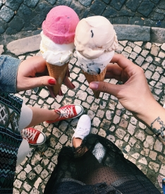 street ice creams are good, too!