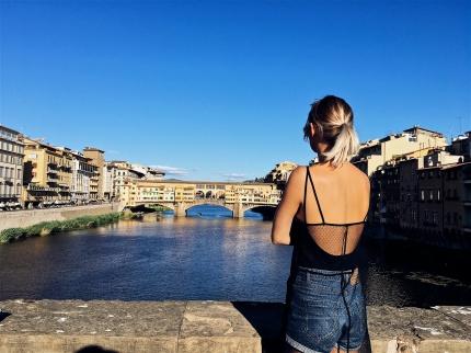 view on Ponte Vecchio