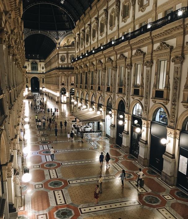 Galleria Vittorio Emanuele is love
