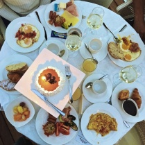 Hotel Italia Palace breakfast