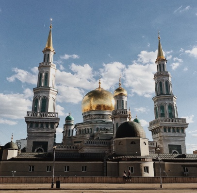 Cathedral Mosque - not a view foreign visitors may expect, but stunning!