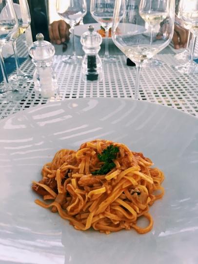 crab homemade pasta