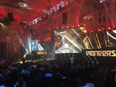 Pioneers 2018 main stage
