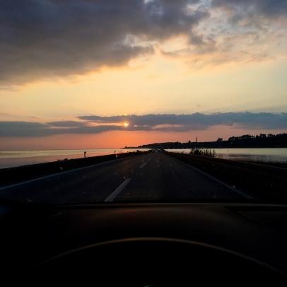 beautiful drive both ways is guaranteed