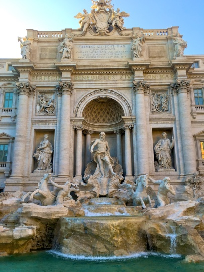 Trevi's reconstruction is finally over!