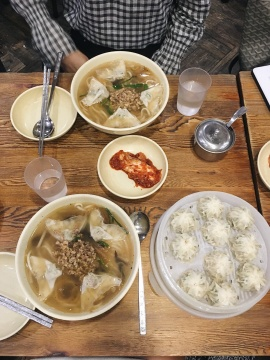 Dim sums and noodle soups are delicious, too!