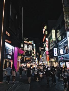 Itaewon after sunset