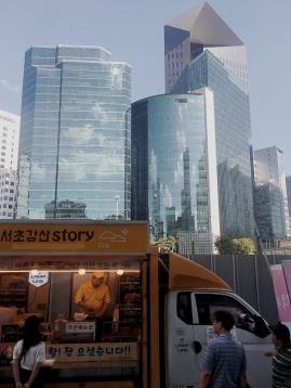 Gangnam streetfood