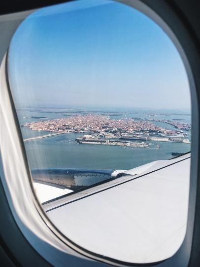 Landing in Venice is so spectacular