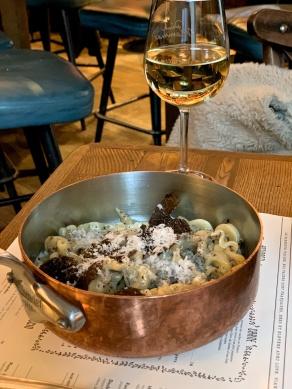 truffle pasta @Pink Mamma