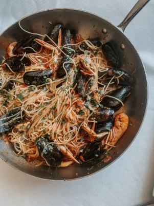 La Botte, spaghetti frutti di mare