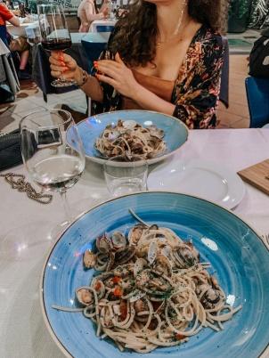 Spaghetti alle vongole @Agosti